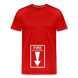 fire extinguisher shirt - Men's Premium T-Shirt