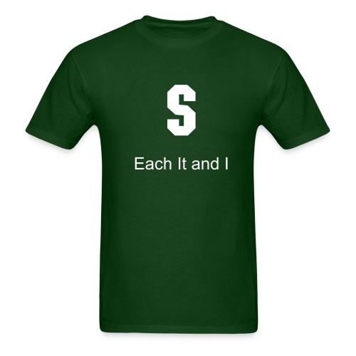 Each it and I - Men's T-Shirt