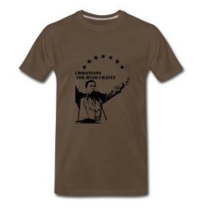 Christians for Chavez - Men's Premium T-Shirt