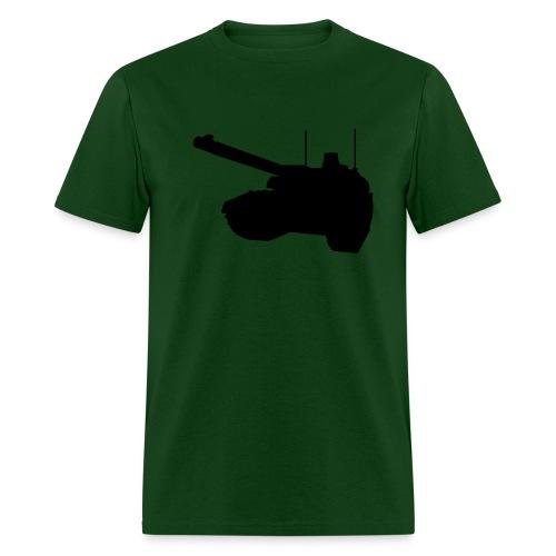 Green and Black tank tee - Men's T-Shirt