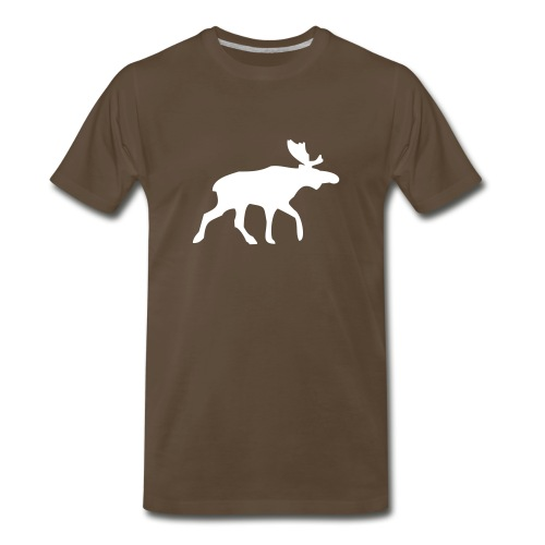 A & F Moose - Men's Premium T-Shirt