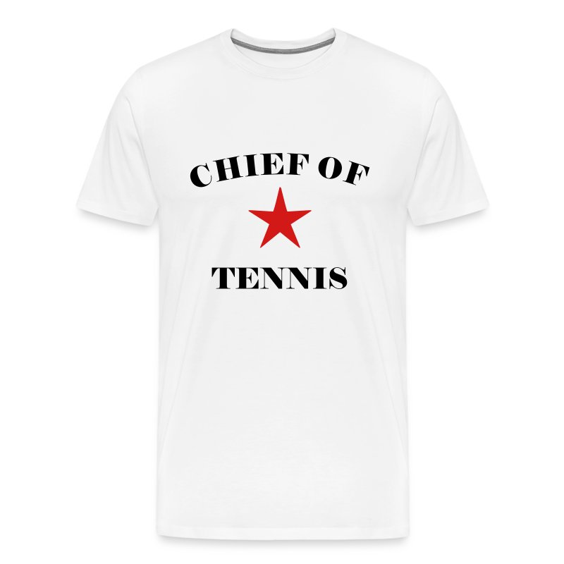 chieftennis (white) - Men's Premium T-Shirt