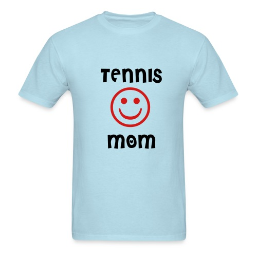 Tennis Mom (sky blue) - Men's T-Shirt