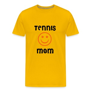 Tennis Mom (yellow) - Men's Premium T-Shirt