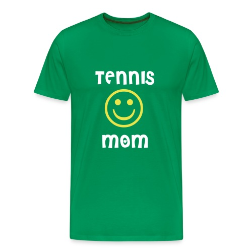 Tennis Mom (green) - Men's Premium T-Shirt