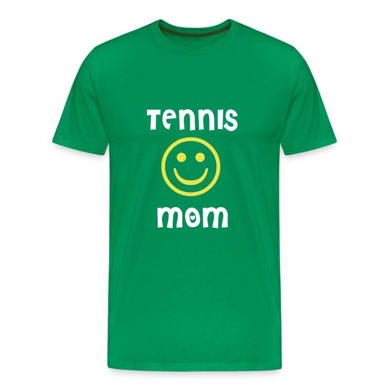 Tennis Mom (green) - Men's Premium T-Shirt