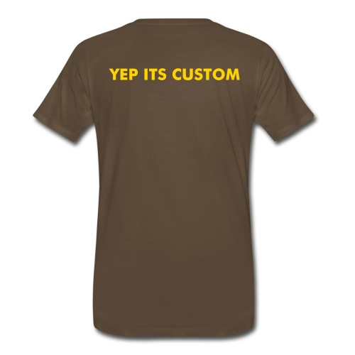 YOU CAN PUT IT ON HERE - Men's Premium T-Shirt