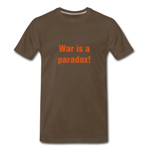 War is a paradox! - Men's Premium T-Shirt