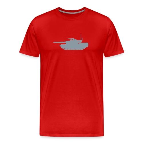 Tank Red - Men's Premium T-Shirt