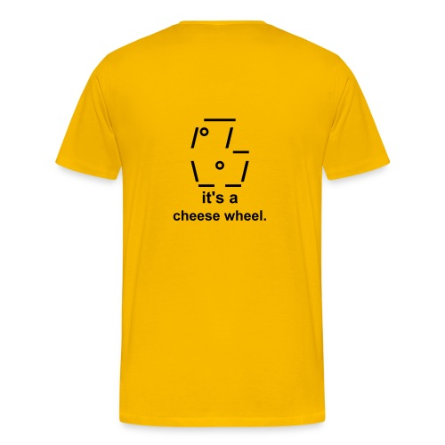 Who Moved My CheesE? - Men's Premium T-Shirt