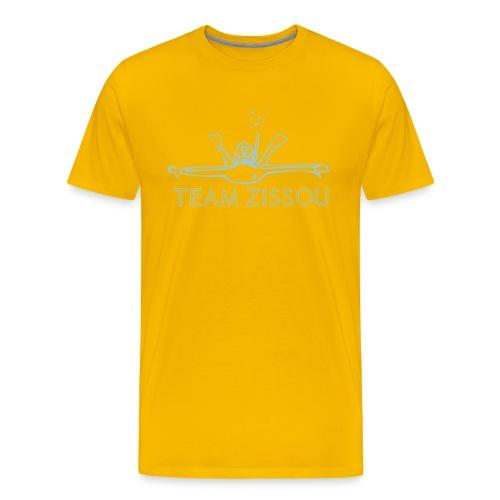 Team Zissou Diver - Men's Premium T-Shirt