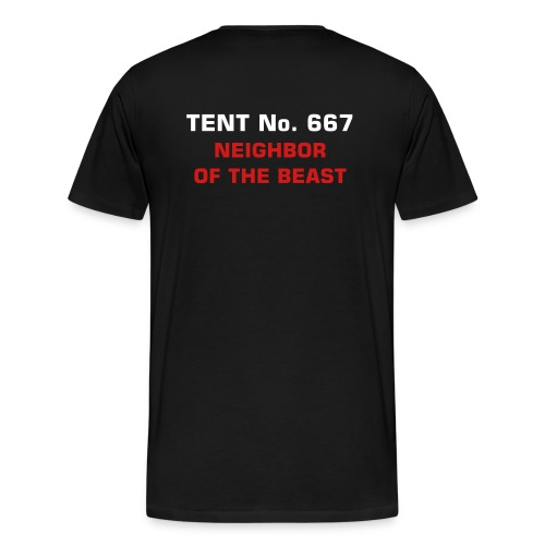 Tent No. 667 - Men's Premium T-Shirt