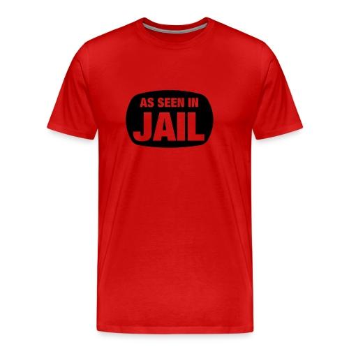 Mens Red Tee - Men's Premium T-Shirt
