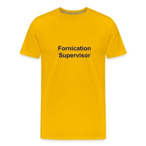 Fornication Supervisor t-shirt - Men's Premium T-Shirt