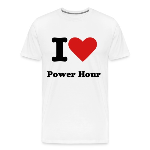 I Love Power Hour - Men's Premium T-Shirt