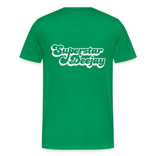 SuperStar Deejay - Men's Premium T-Shirt