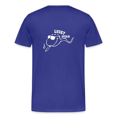 lucky sperm - Men's Premium T-Shirt