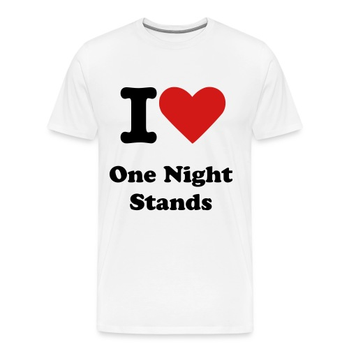 I love One Night Stands - Men's Premium T-Shirt