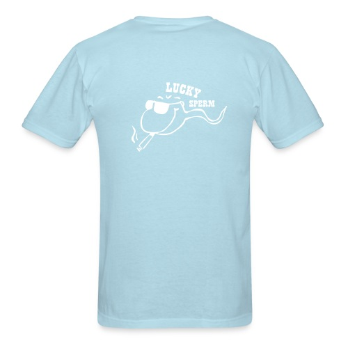 lucky sperm - Men's T-Shirt