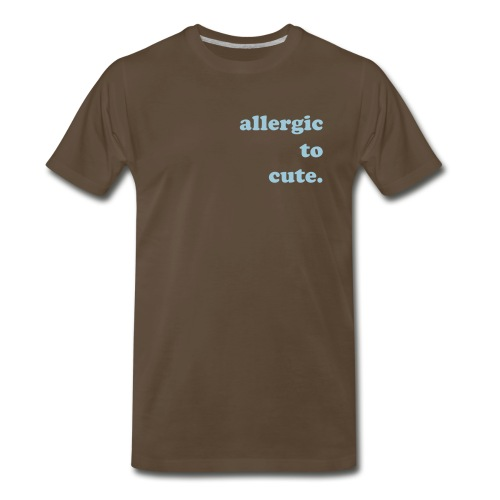 allergictocute. - Men's Premium T-Shirt