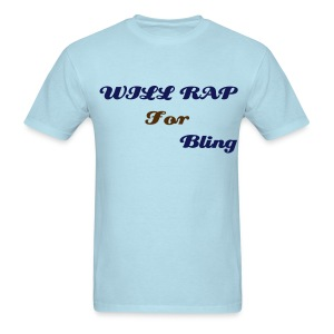 Rap For Bling - Men's T-Shirt