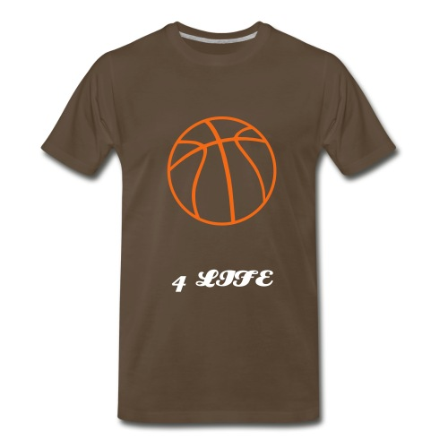 B-ball 4 Life Tee - Men's Premium T-Shirt