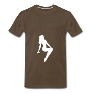BABE MAGNET AD - Men's Premium T-Shirt