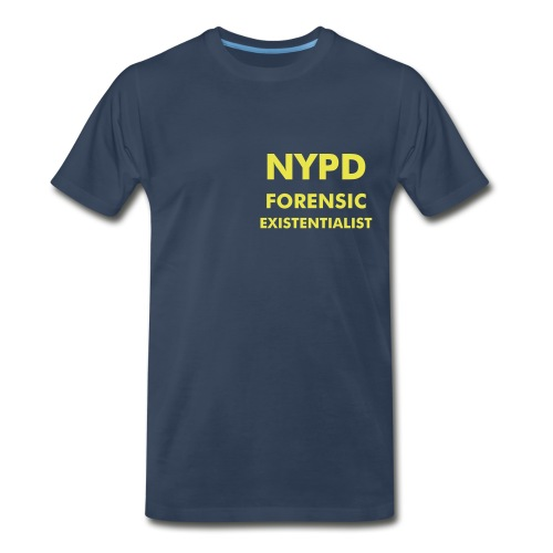 Forensic Existentialist Tee Shirt - Men's Premium T-Shirt