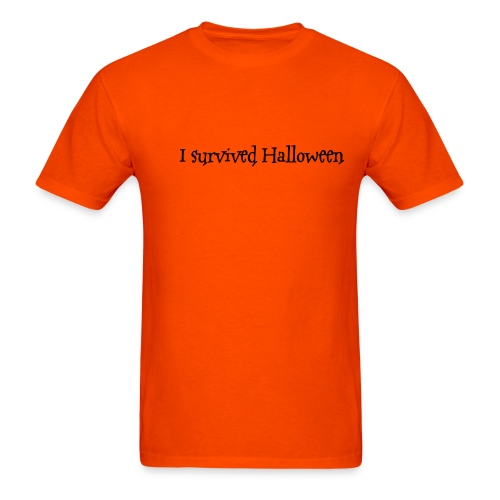I survived Halloween - Men's T-Shirt