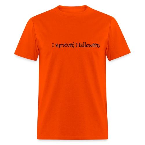 I survived Halloween - Men's T-Shirt