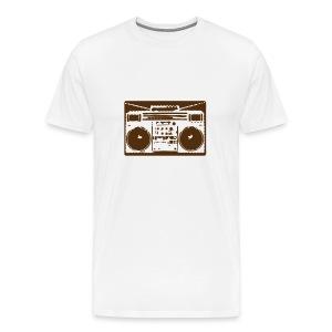 Boom Box Tee - Men's Premium T-Shirt