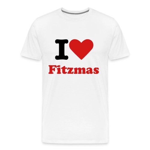 I Heart Fitzmas - Men's Premium T-Shirt