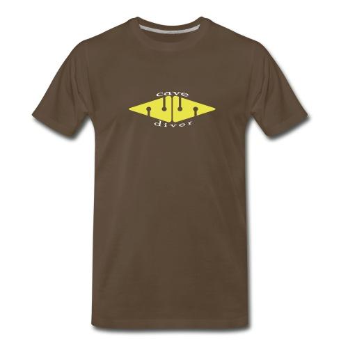 Cave Arrow - Front - Men's Premium T-Shirt