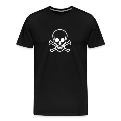 Pirate Skull Men's Tee - Men's Premium T-Shirt