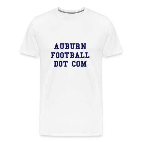 AUBURN FOOTBALL DOT COM - Men's Premium T-Shirt