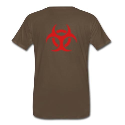 Name/Biohazrd shirt - Men's Premium T-Shirt