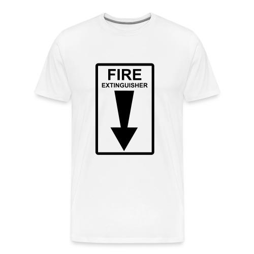Fire Tee - Men's Premium T-Shirt