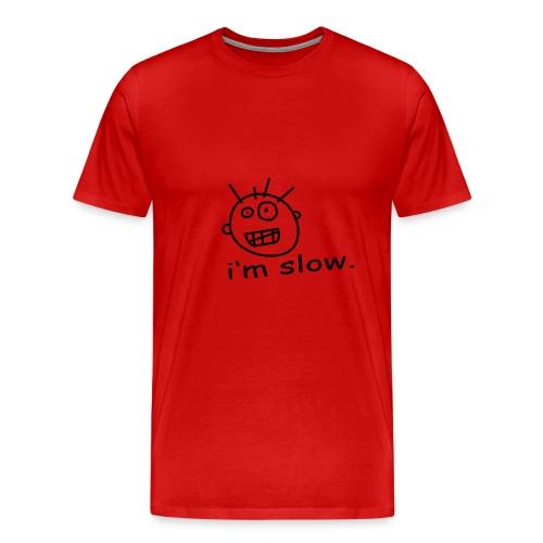 i'm slow - Men's Premium T-Shirt
