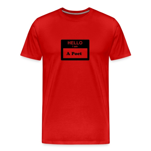 I'm a Poet- 2 Sided Shirt - Men's Premium T-Shirt