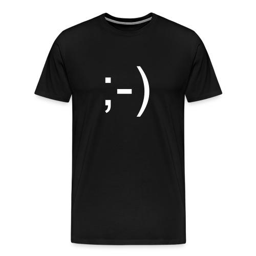 Smiley ;-) - Men's Premium T-Shirt