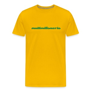 Muitimillonario - Men's Premium T-Shirt