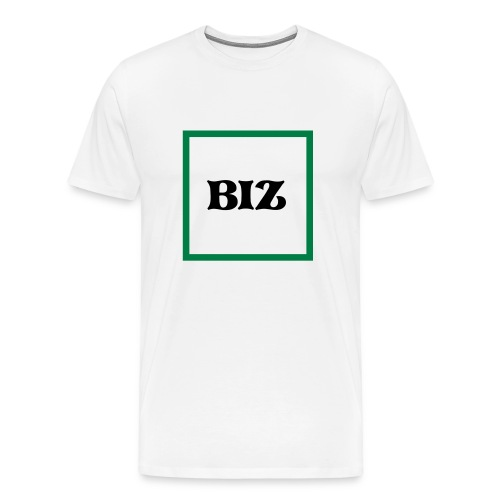 Square Biz Tee - Men's Premium T-Shirt