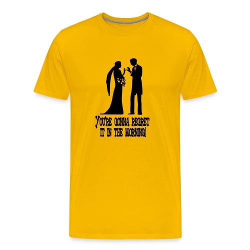 REGRET - Men's Premium T-Shirt
