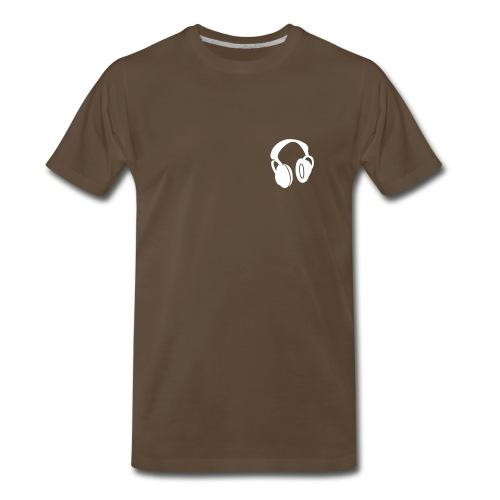 Headphones T-shirt - Men's Premium T-Shirt