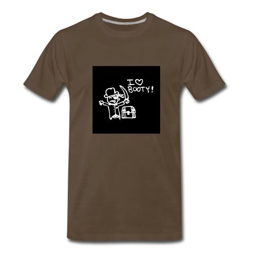 i like booty - Men's Premium T-Shirt