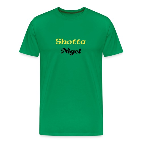 Customized Shotta Tee - Men's Premium T-Shirt