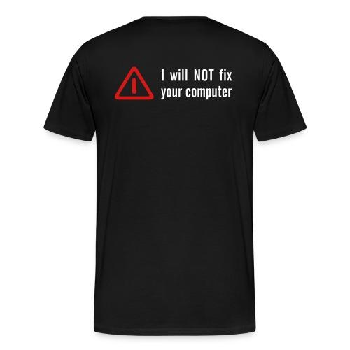 Binary 01 - Men's Premium T-Shirt