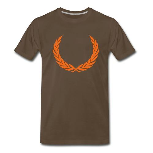 Crowned Truth - Chocolate T - Men's Premium T-Shirt