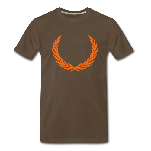 Crowned Truth - Chocolate T - Men's Premium T-Shirt