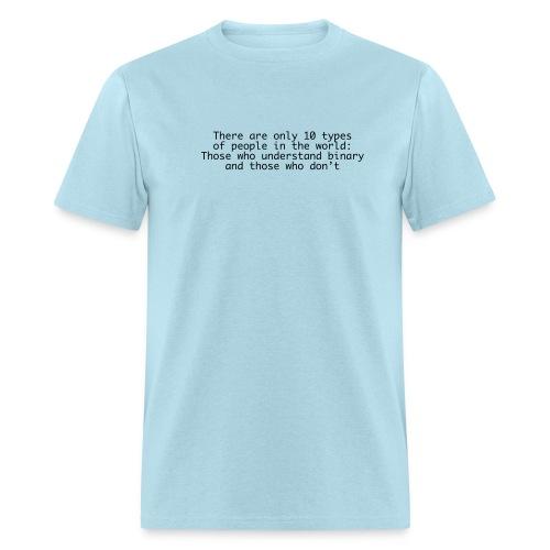 10 Types of People - Men's T-Shirt